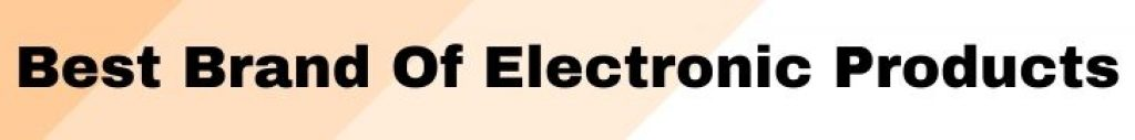 Best Electronic Products List In India